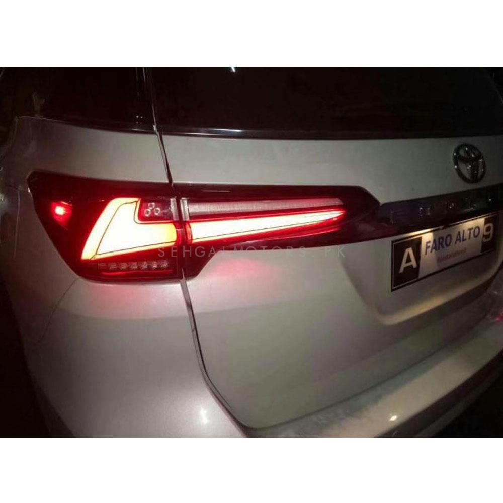 Toyota Fortuner Sequential Lexus Style Back Lamps - Model 2016-2019-SehgalMotors.Pk