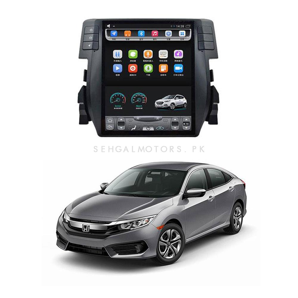 Buy Honda Civic LCD Multimedia System Android GPS Tesla IPS Style