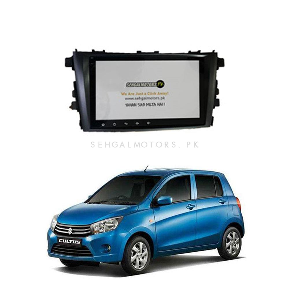 Suzuki Cultus Android LCD IPS Multimedia Panel 8 Inches- Model 2017-2019-SehgalMotors.Pk