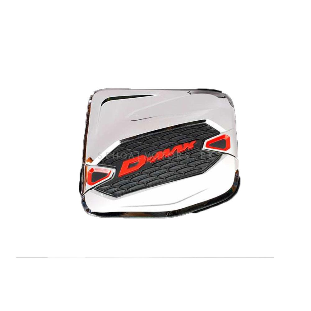 Isuzu D-Max / DMax / D Max Fuel Tank Chrome Cover - Model 2018-2019-SehgalMotors.Pk