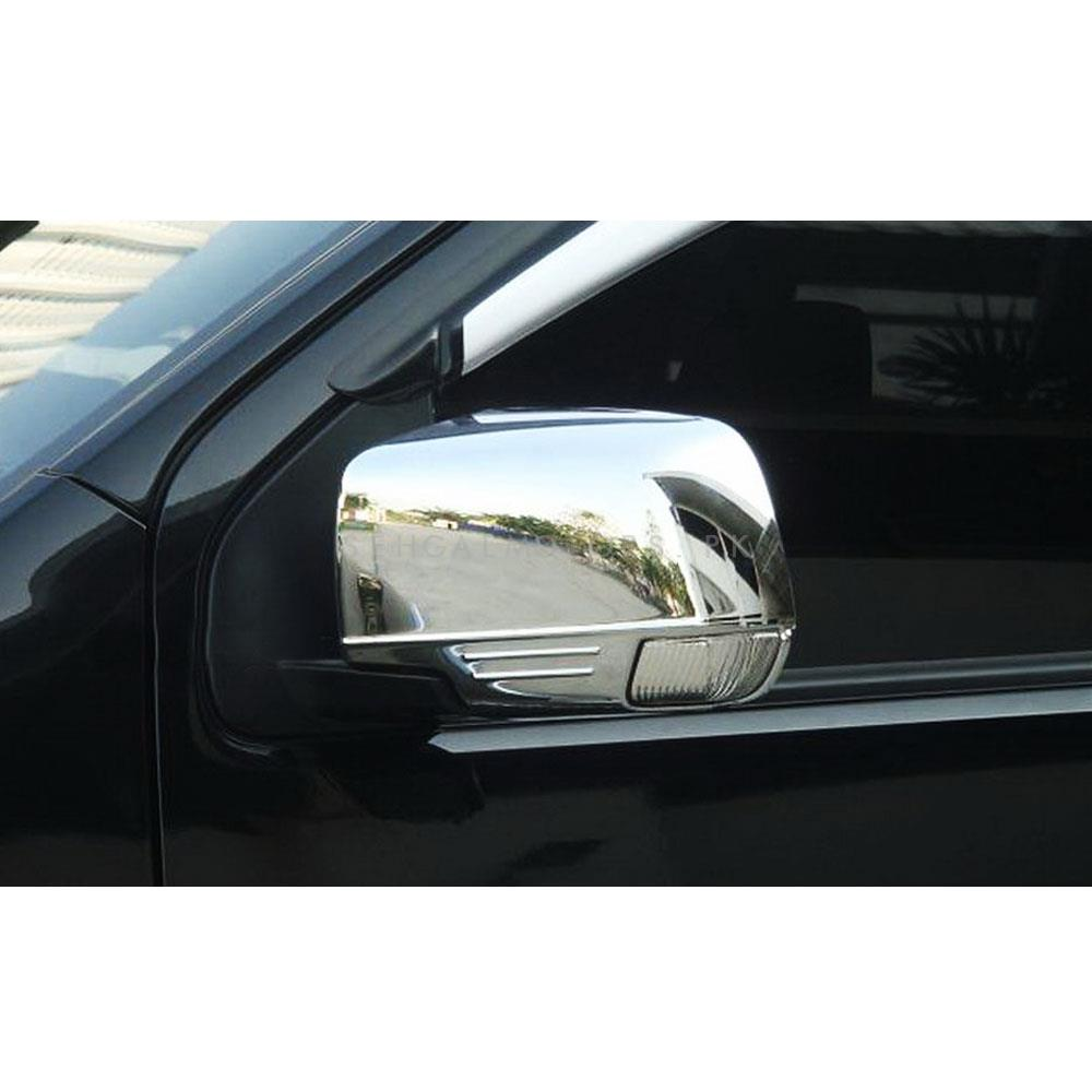 Isuzu D-Max / DMax / D Max Side Mirrors Chrome Cover - Model 2018-2020-SehgalMotors.Pk