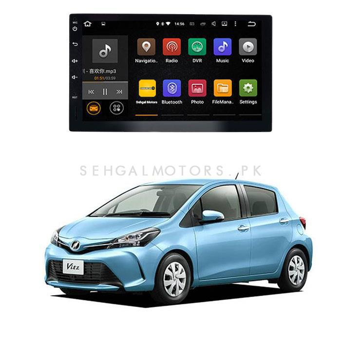 Toyota Vitz Android LCD IPS Multimedia Navigation System - Model 2014-2019-SehgalMotors.Pk