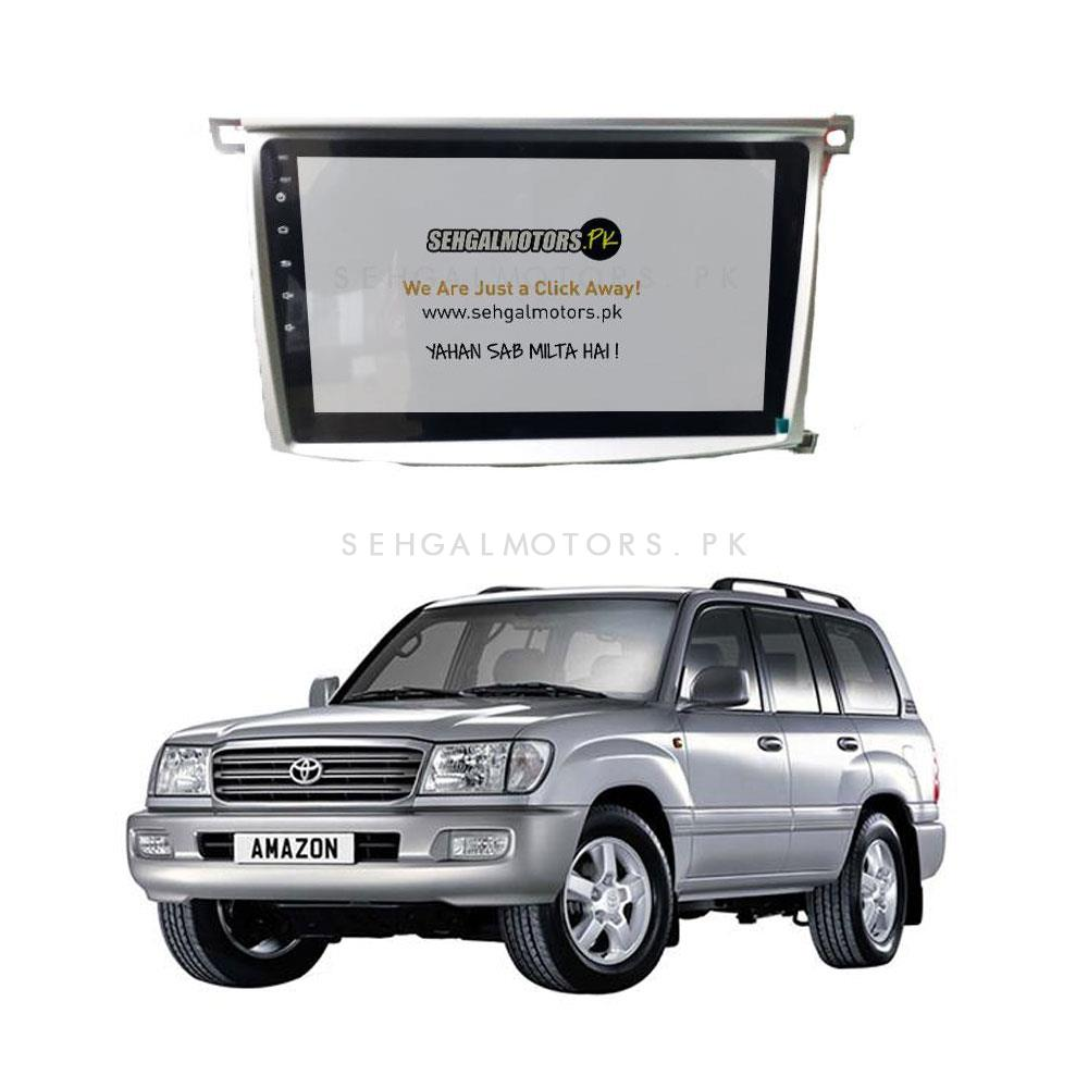 Toyota Land Cruiser LCD Multimedia System Simple Version - Model 1998-2007-SehgalMotors.Pk