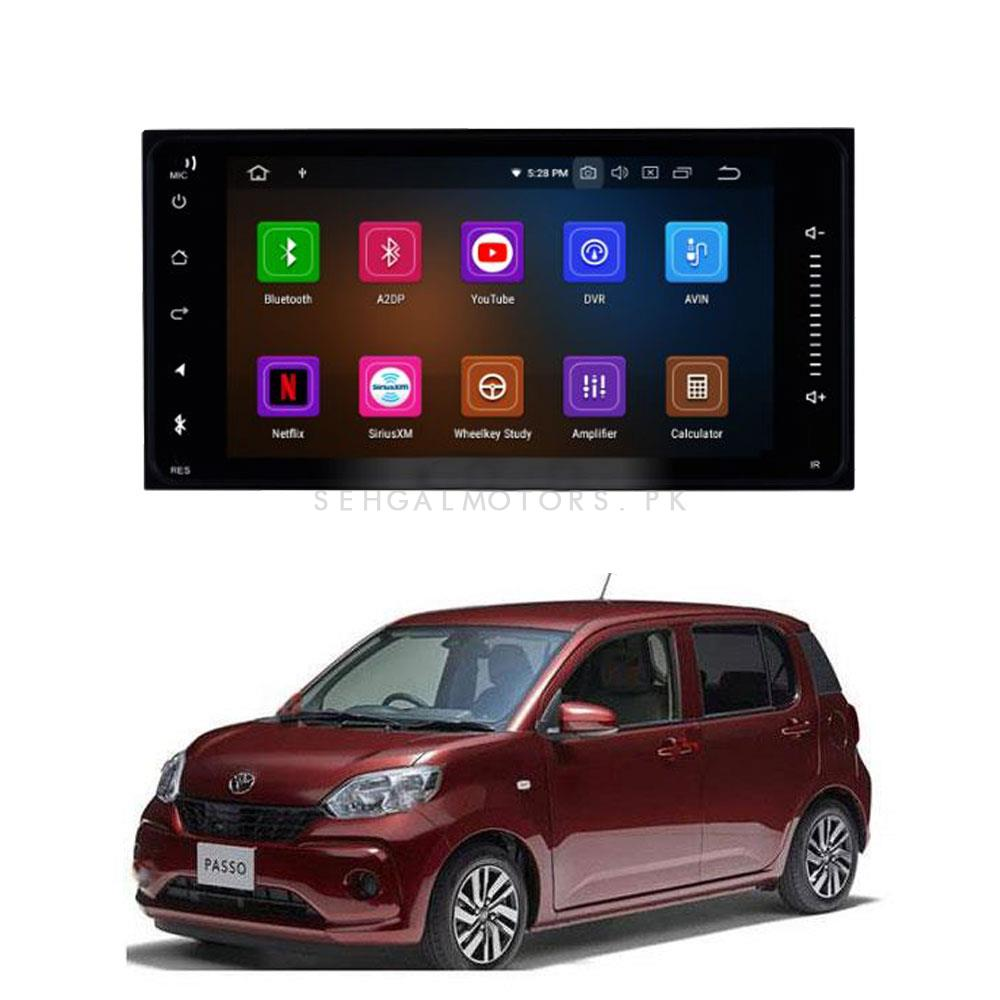 Toyota Passo LCD multimedia IPS Display Android - Model 2016-2019-SehgalMotors.Pk