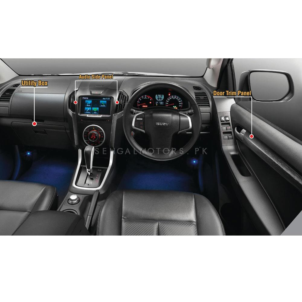 Isuzu D-Max V2 Interior Chrome Trims - Model 2018-2019-SehgalMotors.Pk