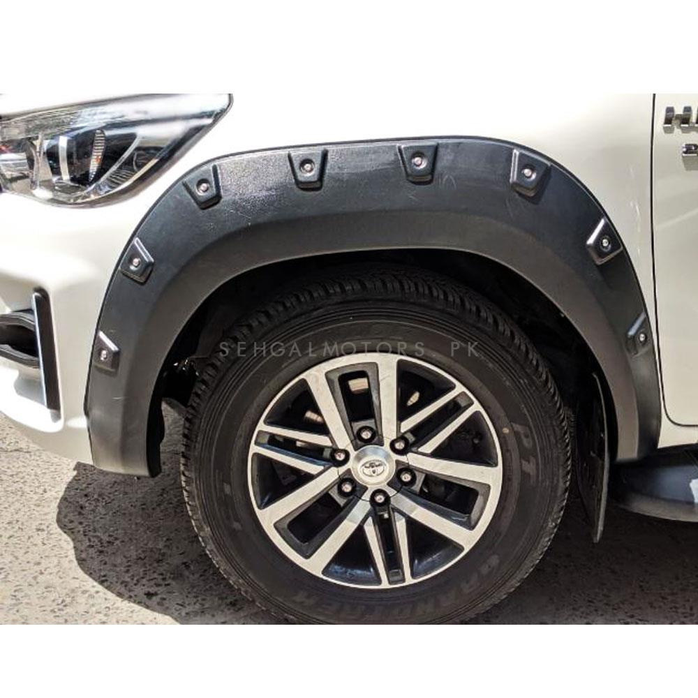Toyota Hilux Revo X-treamer Fender Flare Wheel Arch Matt - Model 2016-2019-SehgalMotors.Pk