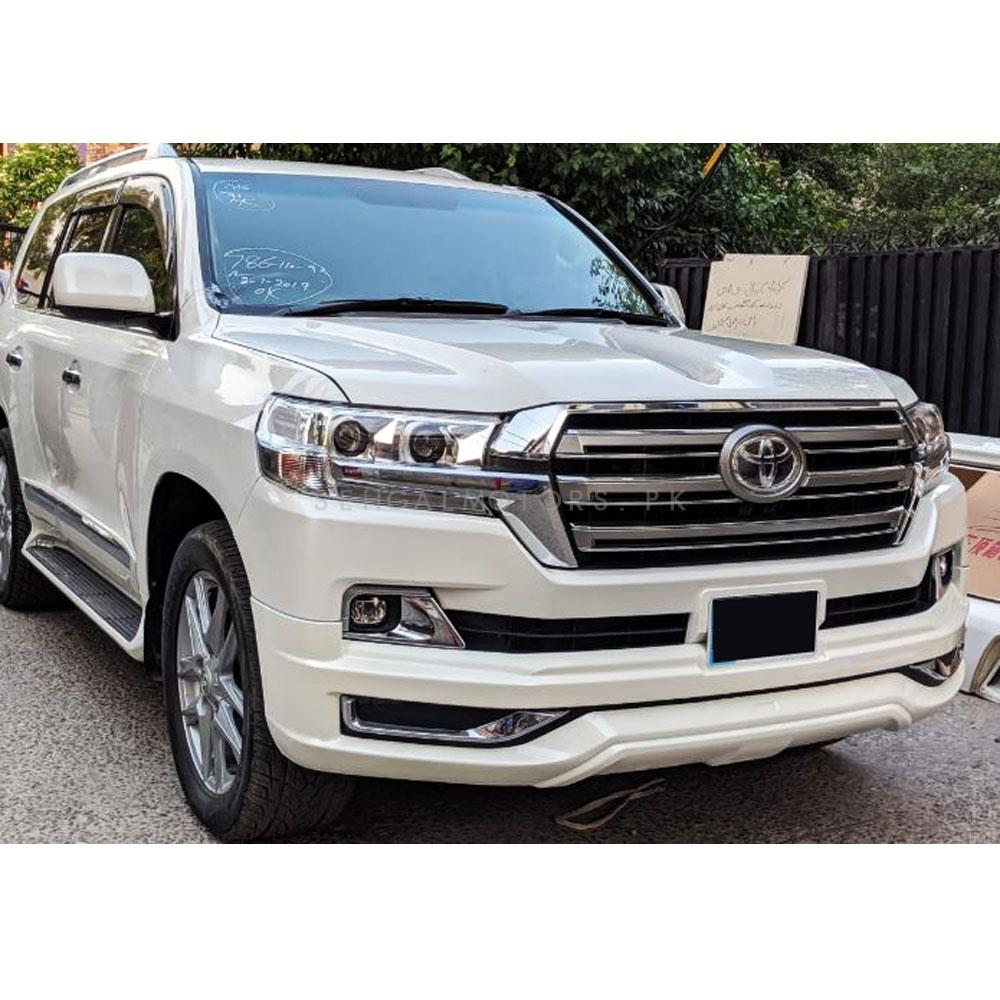 Toyota Land Cruiser Conversion / Upgrade with Body Kit / Bodykit From Model 2008 to 2019 | Facelift Uplift New Model Shape-SehgalMotors.Pk