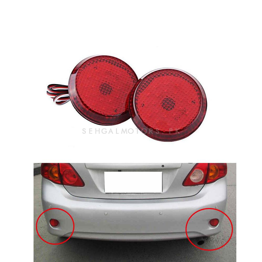 Toyota Corolla LED Back Bumber Reflector - Model 2008-2012-SehgalMotors.Pk