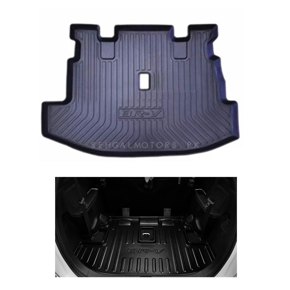 Honda BRV Trunk Mat Tray - Model 2017-2019 | Trunk Boot Liner | Cargo Mat Floor Tray | Trunk Protection Mat | Trunk Tray Cover Pad-SehgalMotors.Pk