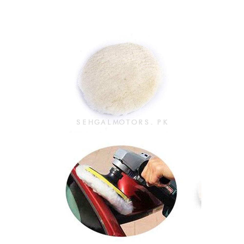 Maximus Polisher Wool Buffing Pad Car Detailing Accessory-SehgalMotors.Pk
