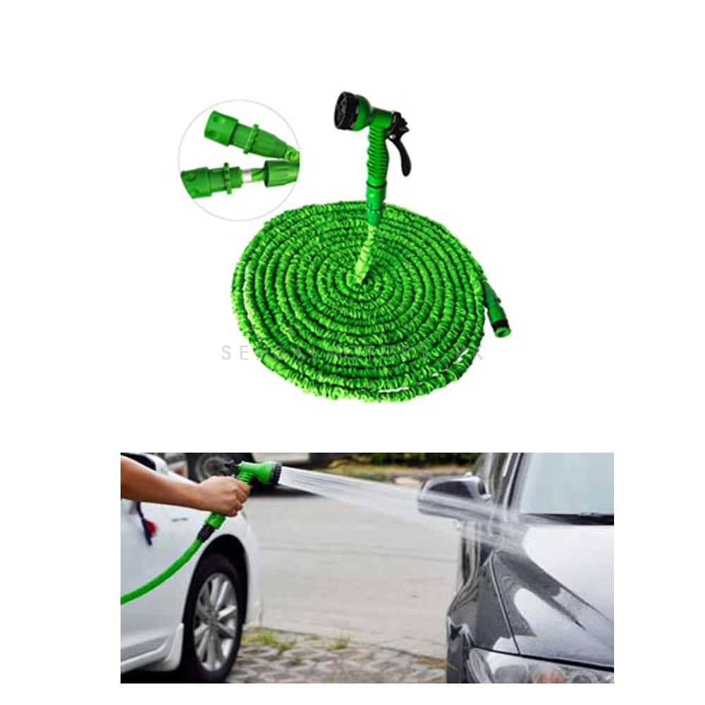 Car Washer Pipe Expandable with Different Functions Random Color - 100-FT-SehgalMotors.Pk