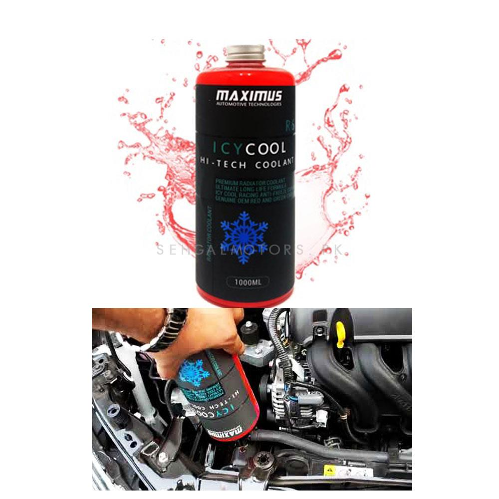 Maximus ICYCOOL Hi-Tech Coolant R6- Red 1000ml  -SehgalMotors.Pk
