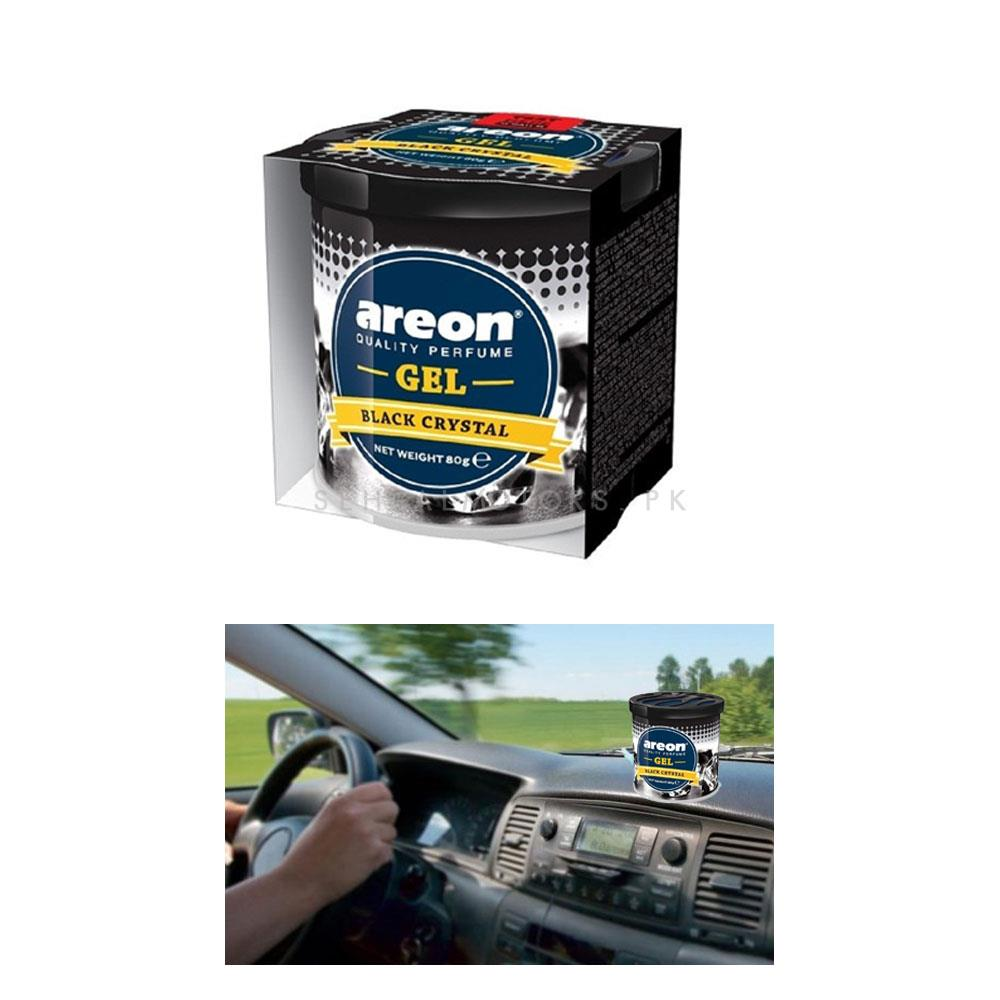 Areon Gel Can - Black Crystal -SehgalMotors.Pk