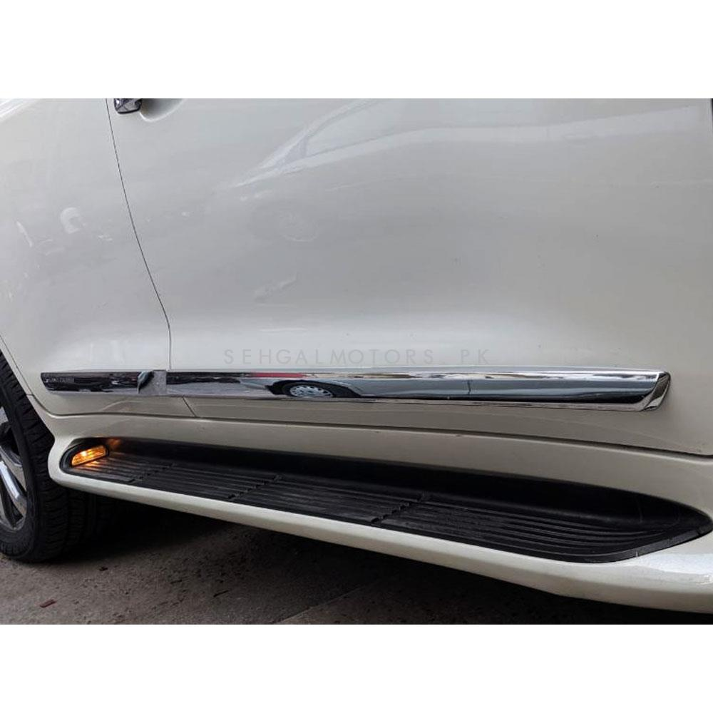 Toyota Land Cruiser Full Chrome Side Moulding - Model 2015-2019-SehgalMotors.Pk