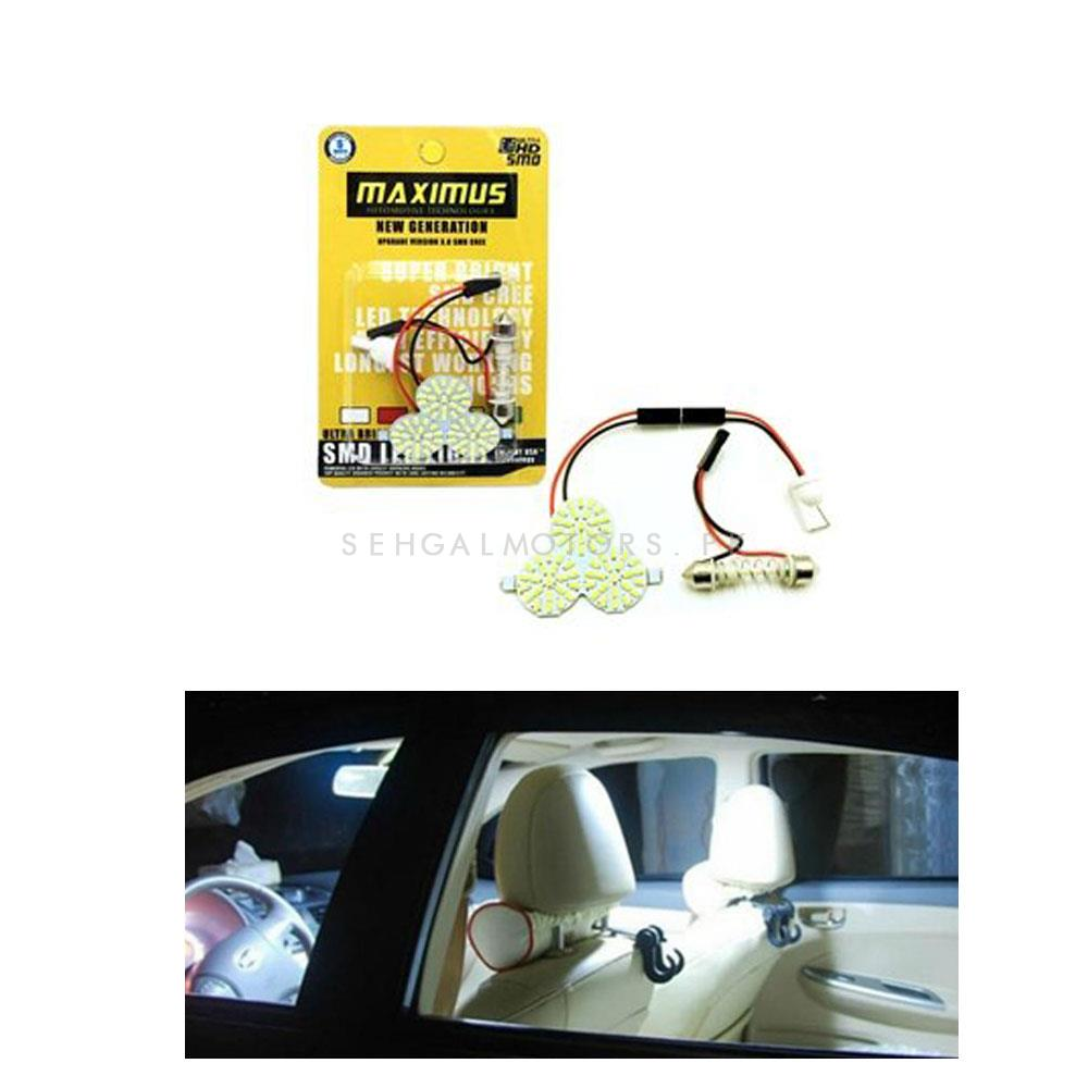 Maximus 3 MD Roof Dome Light LED SMD CREE White | Super Bright Interior-SehgalMotors.Pk