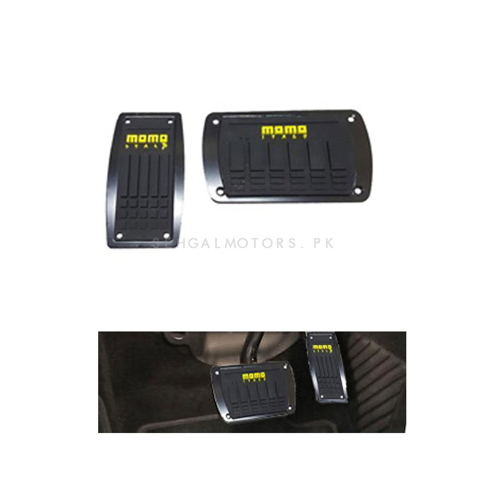 Momo Auto Transmission Pedal Cover Black -SehgalMotors.Pk