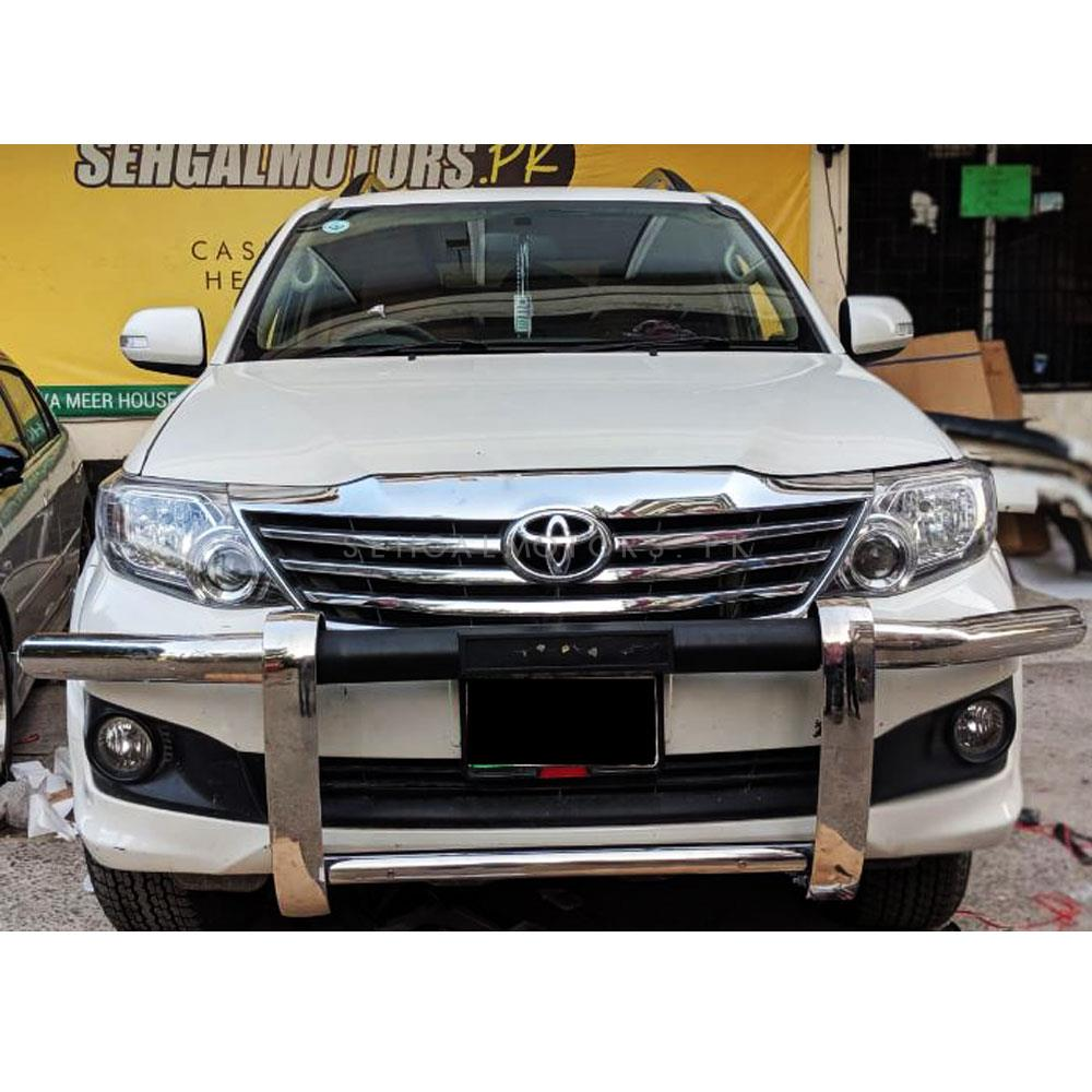 Stainless Exhaust Tip Trim Genuine Stainless For Toyota Fortuner Suv 2015 2018