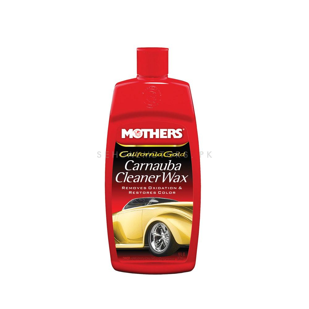 Mothers Carnauba Cleaner Wax 4 oz-SehgalMotors.Pk