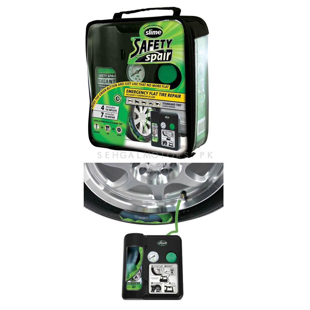 Slime Safety Spair Tire Repair Kit-SehgalMotors.Pk