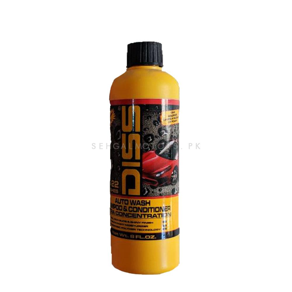 Diss Auto Wash Shampoo and Conditioner - 8oz | Car Shampoo | Car Cleaning Agent | Car Care Product | 2 in 1 Product | Glossy Touch Shampoo | Mirror Like Shine-SehgalMotors.Pk
