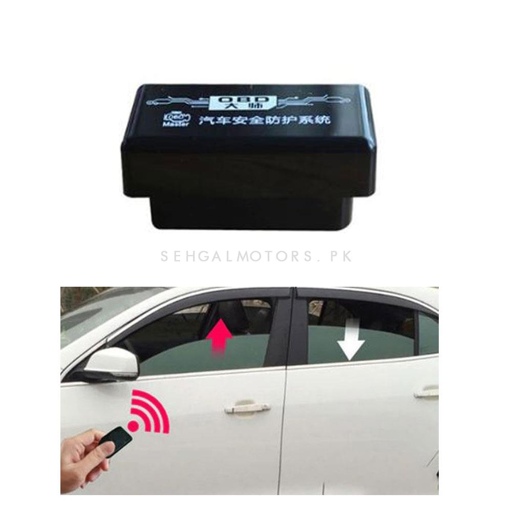 Toyota Prado OBD2 Window Closer- Model 2015-2019 | Auto Window , Side mirror and Sunroof Closer kit-SehgalMotors.Pk