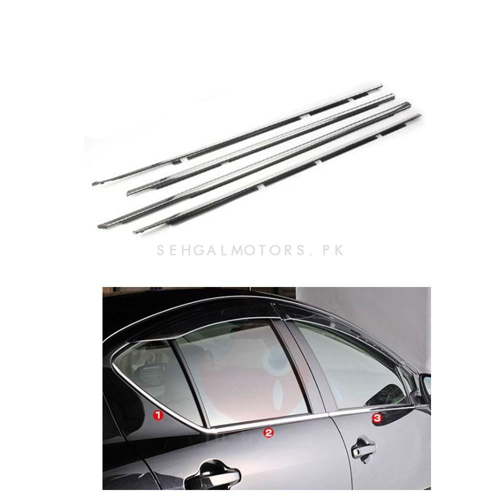 Toyota Aqua Weather Strip Chrome - Model 2012-2019-SehgalMotors.Pk