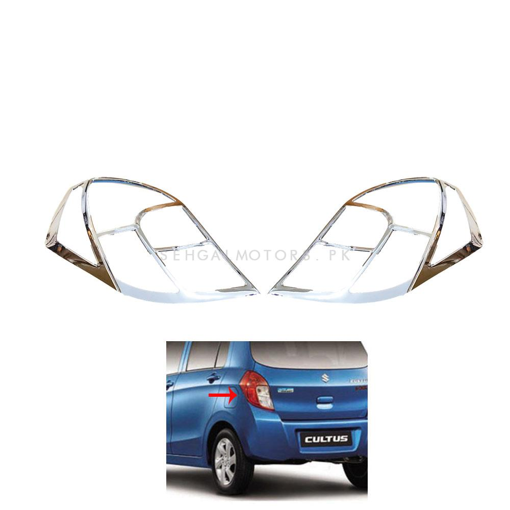 Suzuki Cultus Back Light Chrome Trim - Model 2017-2019	-SehgalMotors.Pk