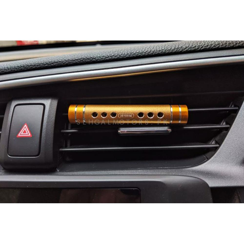 Mini Slim Ac Vent Car Perfume Fragrance - Mix Color-SehgalMotors.Pk