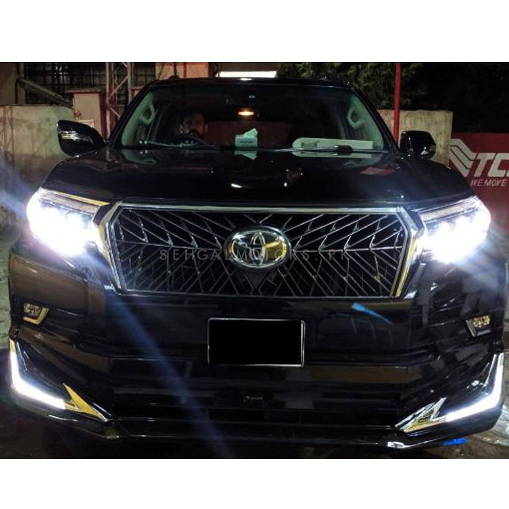 Toyota Prado LX570 Single DRL Style Conversion / Upgrade from 2009-2019-SehgalMotors.Pk
