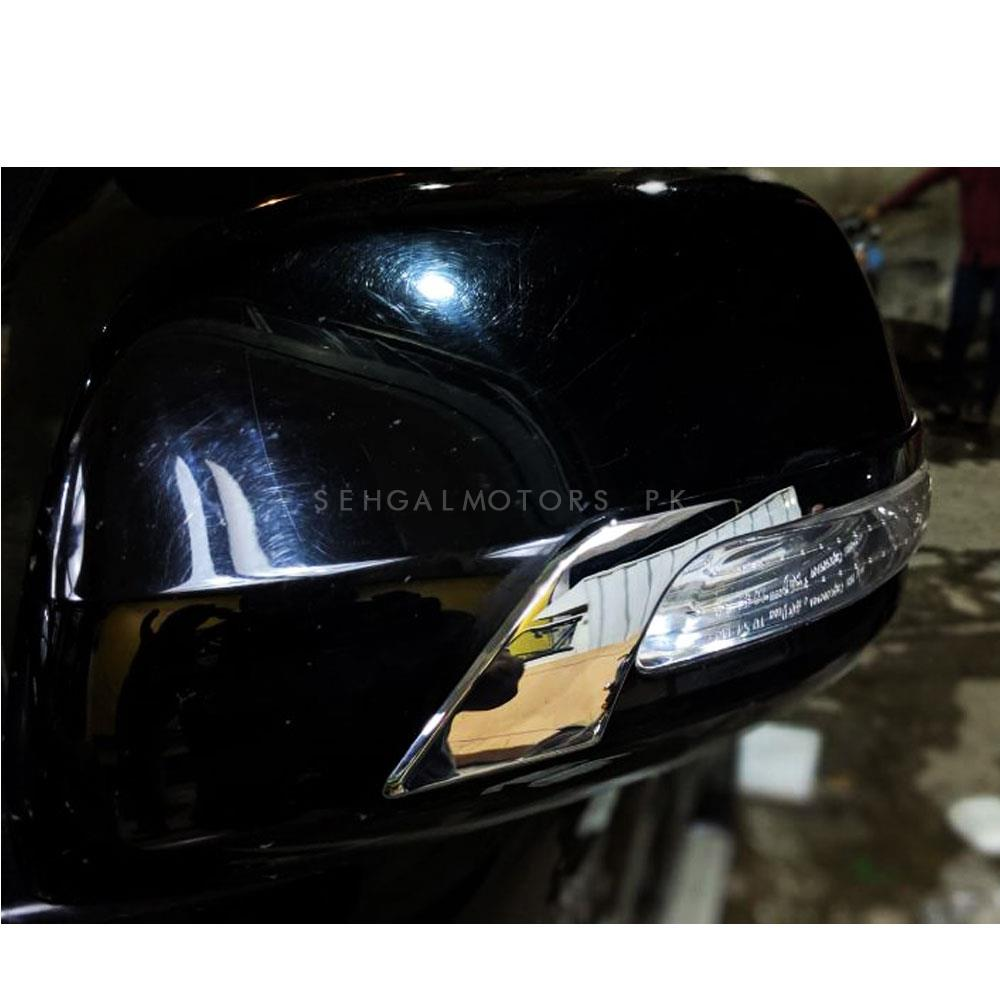 Toyota Prado Side Mirror Chrome Trims Style B - Model 2009-2018-SehgalMotors.Pk