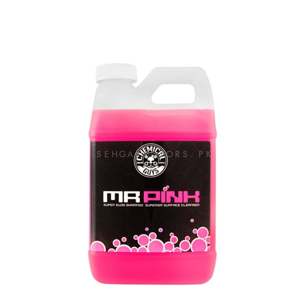 Chemical Guys Mr. Pink Super Suds Shampoo Superior Surface Cleanser - 1 Gal-SehgalMotors.Pk