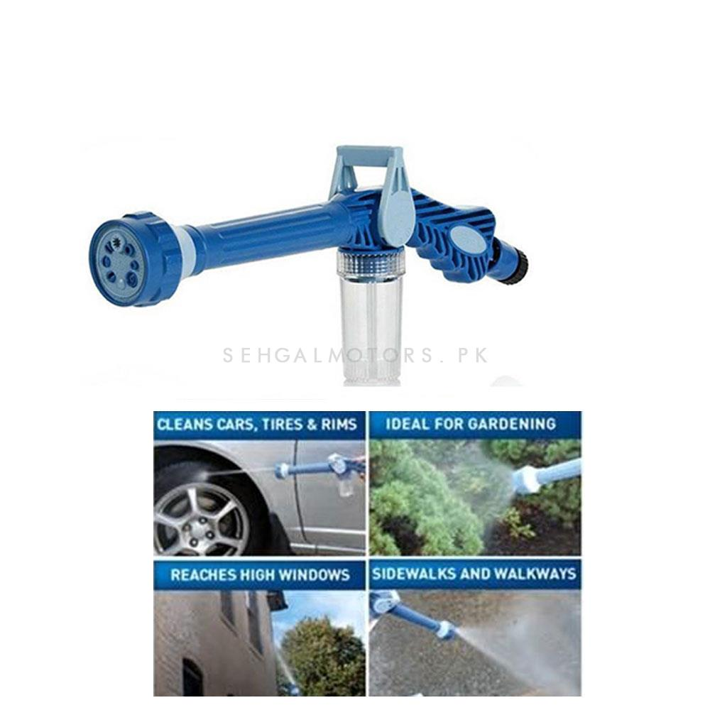 EZ Jet Multifunctional Water Cannon Spray Gun | Multifunctional Car Cleaning Spray Home Garden Sprayer Plastic Easy To Use Ez Jet Water Cannon Sprayer Turbo Tools-SehgalMotors.Pk