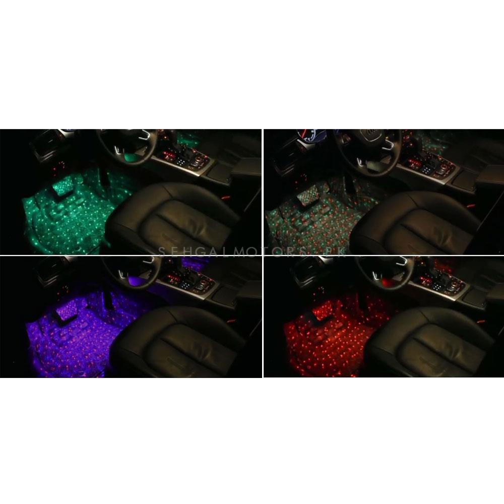 Disco Atmosphere Light New Style For Interior - 7 Color-SehgalMotors.Pk