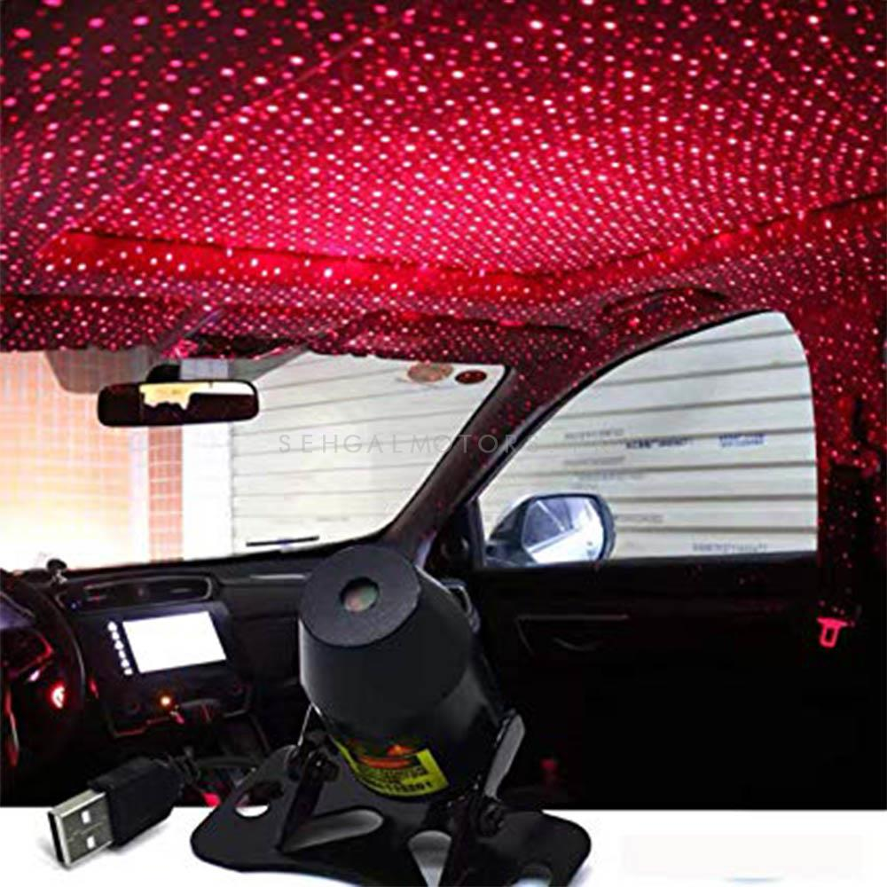 Car Disco Atmosphere Ambience Colorful Music Sound Lamp LED Light Galaxy Light( Without Remote)-SehgalMotors.Pk