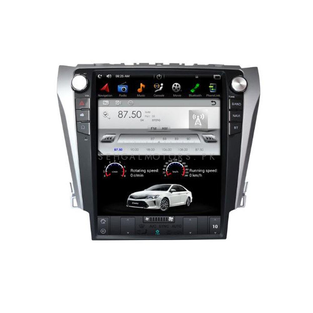 Toyota Camry LCD multimedia IPS Display Android - Model 2012-2016-SehgalMotors.Pk