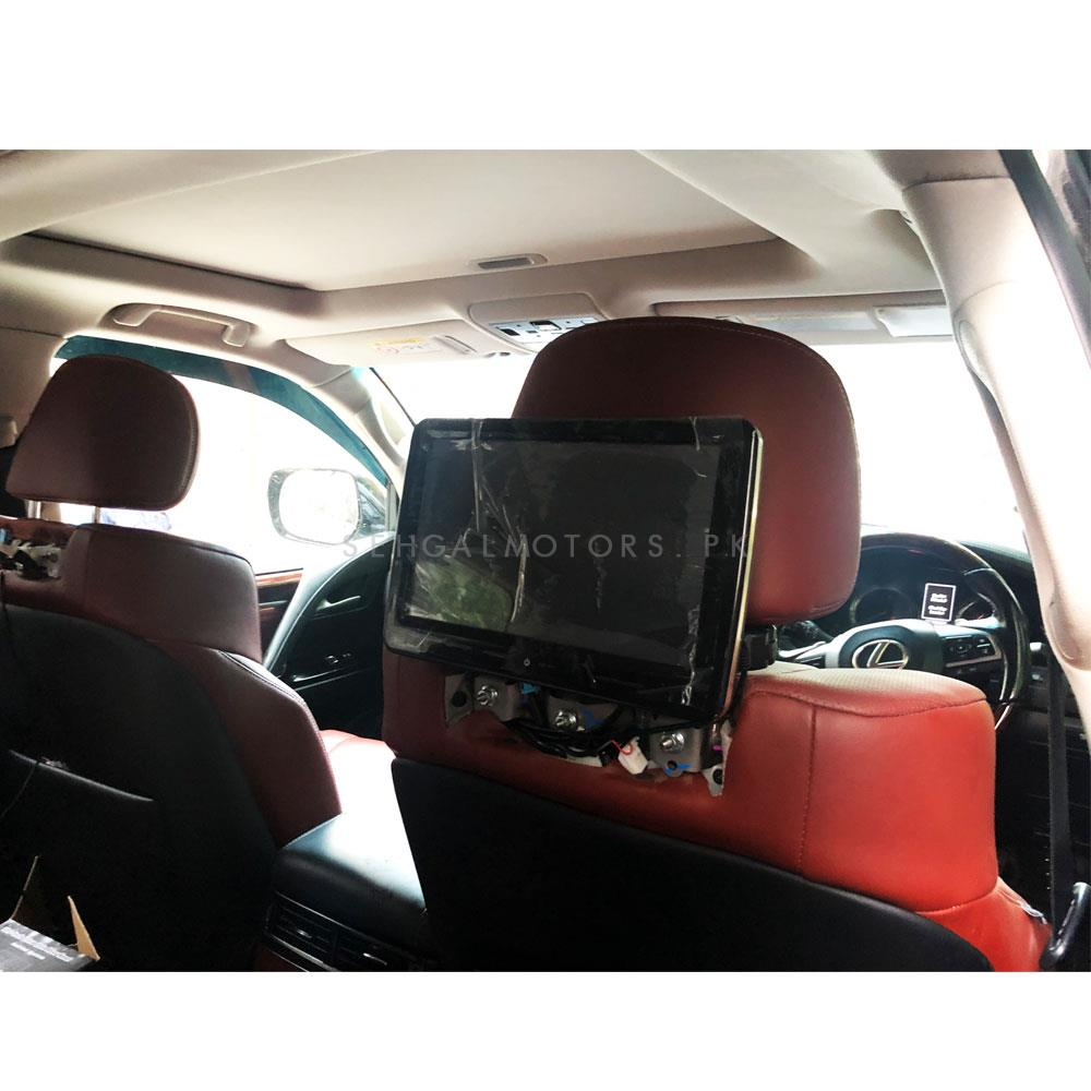 Lexus LX570 Headrest 10.1 inch Android LCD IPS Multimedia System - Model 2007-2018-SehgalMotors.Pk