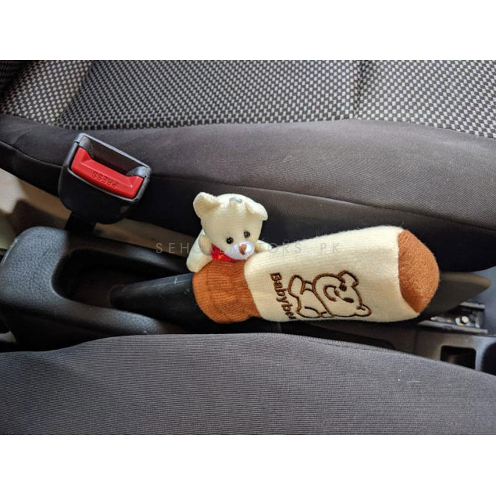 Bear Stuff Toy Covers For Car Interior 5 pcs ( Bhalu Set)-SehgalMotors.Pk