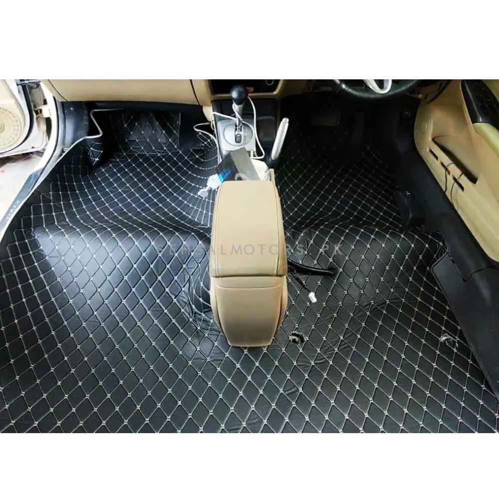 KIA Grand Carnival 7D Floor Matting Black - Model 2019-2020-SehgalMotors.Pk