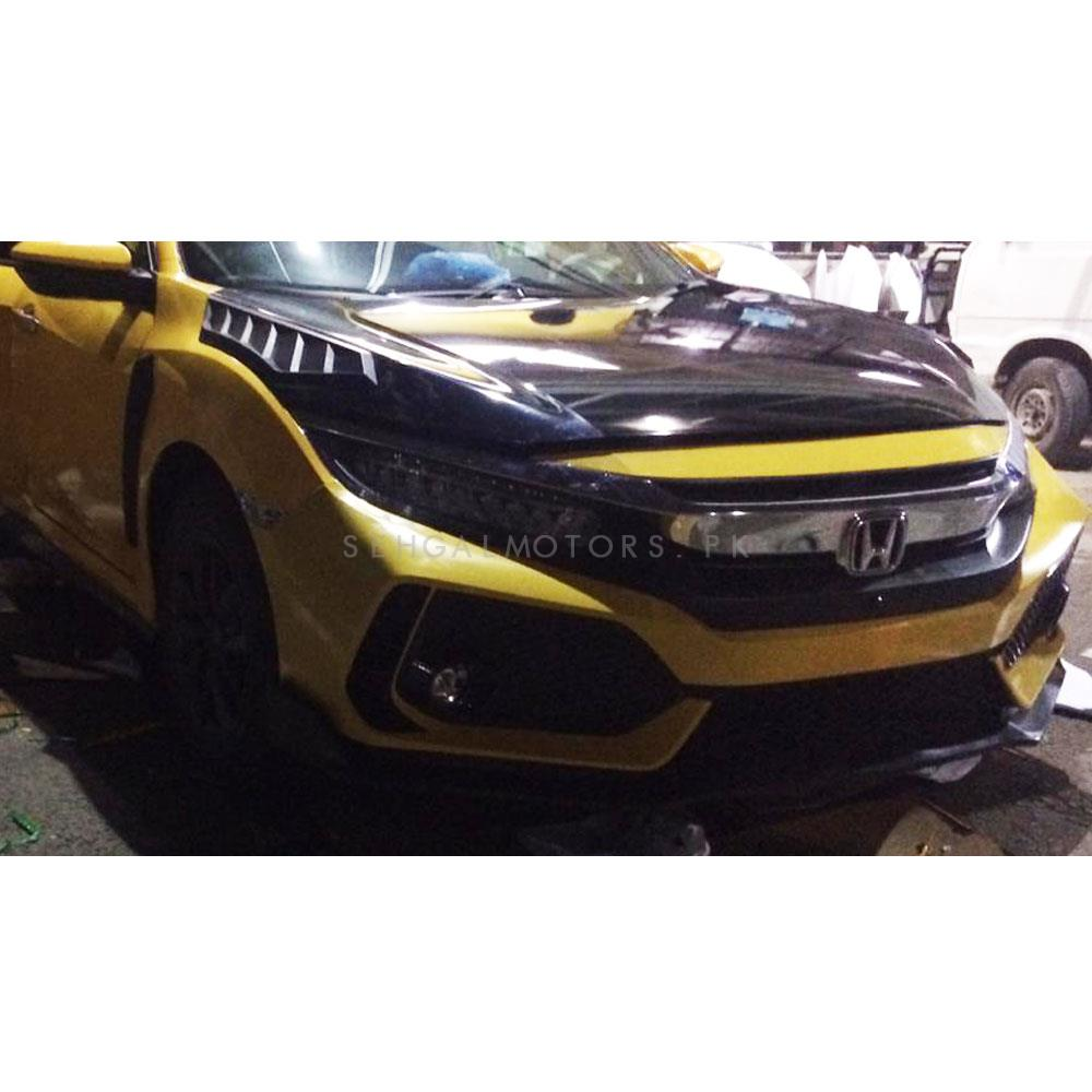 Honda Civic Type R Modification Model - 2016-2020 Wrapping | LED Head Lamps | Type R Bodykit| Grille-SehgalMotors.Pk