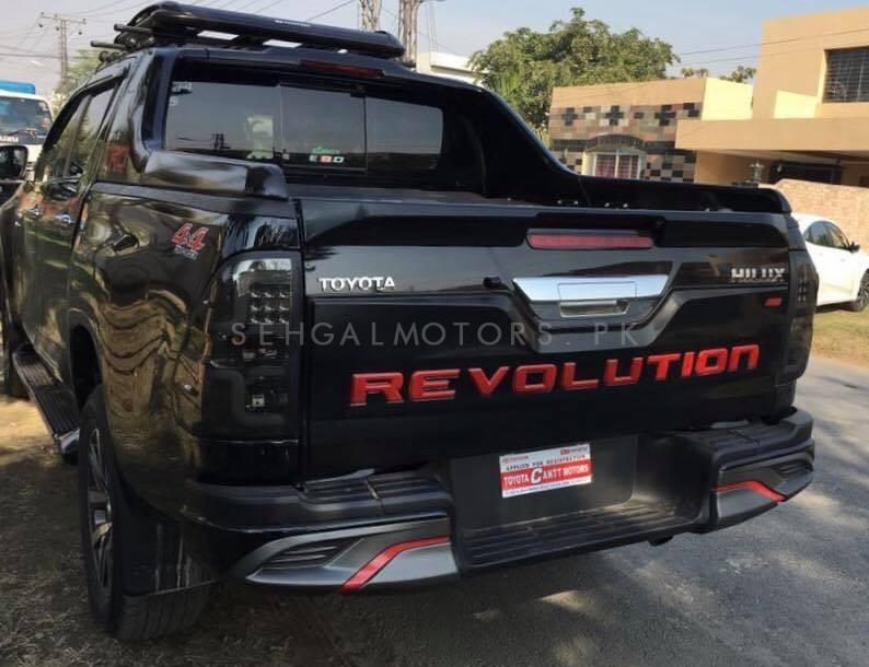 Toyota Hilux Revo Revolution Rear Tailgate Outer Lid Cover Multi - Model 2016-2020-SehgalMotors.Pk