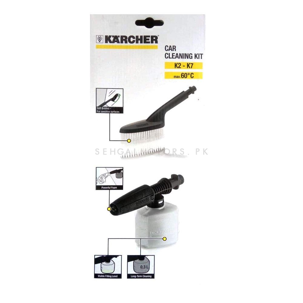 Karcher Car Cleaning Kit K2-K7 | Cleaning Gadget | Car Gadgets | Car Accesories Cleaning Tools | Cleaning Product-SehgalMotors.Pk