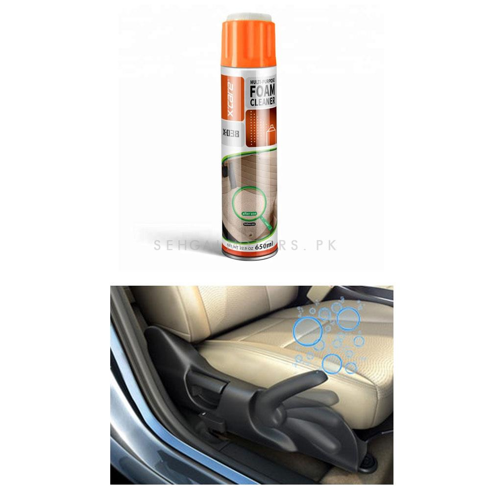 XCare Multi Purpose Foam Cleaner With Brush | X-care-SehgalMotors.Pk