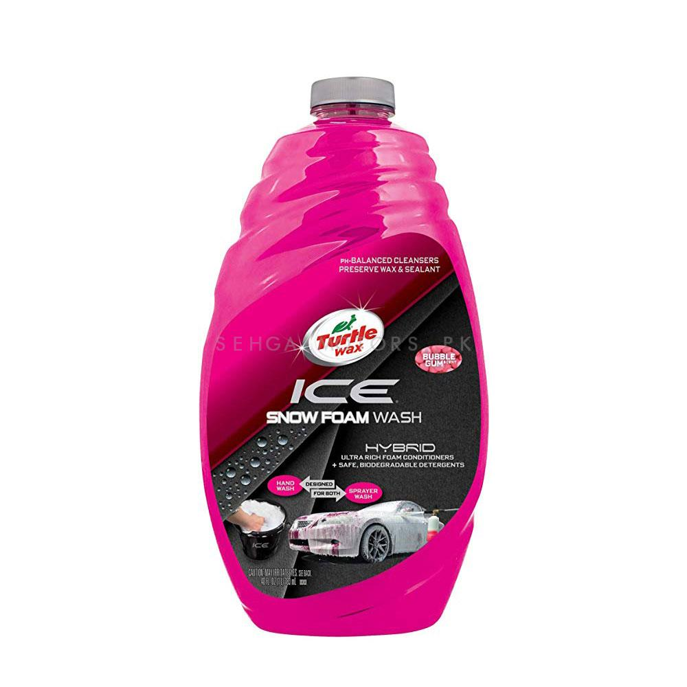 Turtle Wax 50990 Ice Snow Foam Car Wash  | Car Shampoo | Car Cleaning Agent | Car Care Product | Glossy Touch Shampoo | Mirror Like Shine-SehgalMotors.Pk