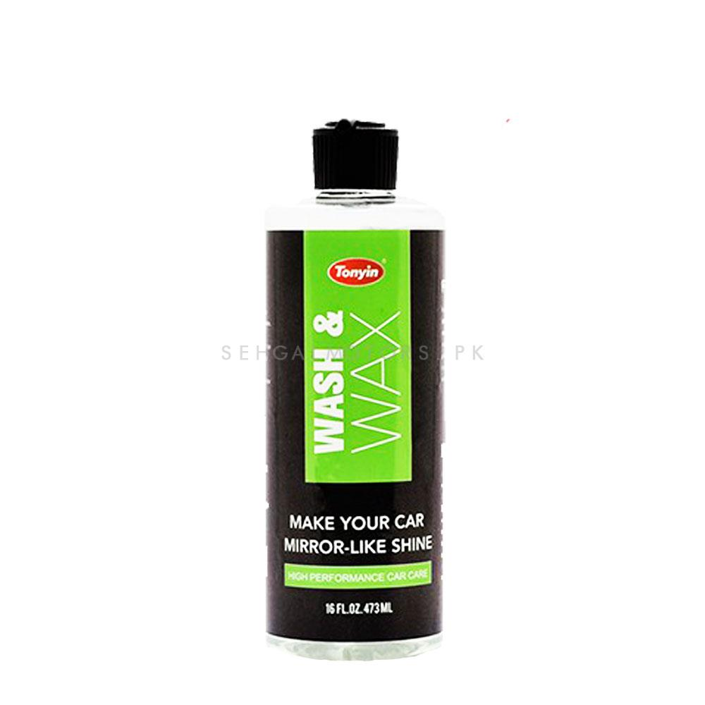 Tonyin Car Wash and Wax | Car Shampoo | Car Cleaning Agent | Car Care Product | 2 in 1 Product | Glossy Touch Shampoo | Mirror Like Shine -SehgalMotors.Pk