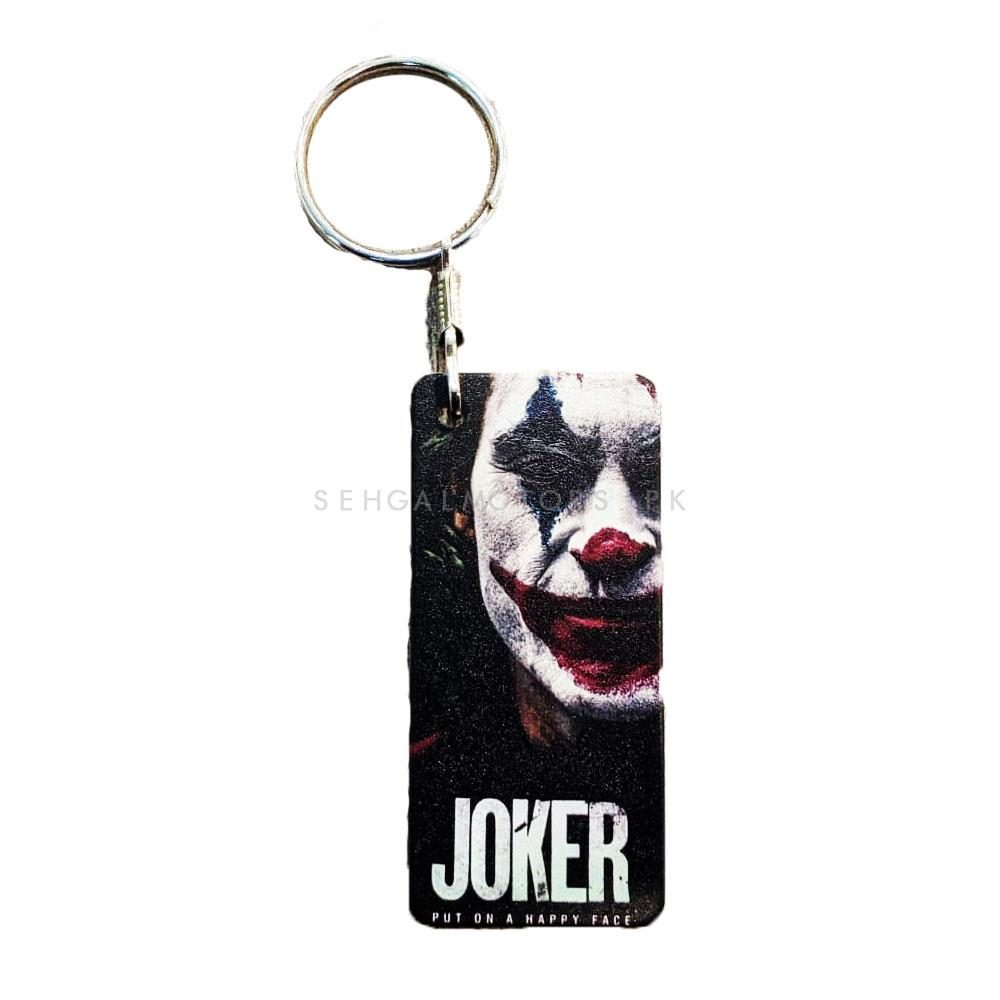 Joker Movie Metal Custom Key Chain | Key Chain Ring For Keys | New Fashion Creative Novelty Gift Keychains-SehgalMotors.Pk