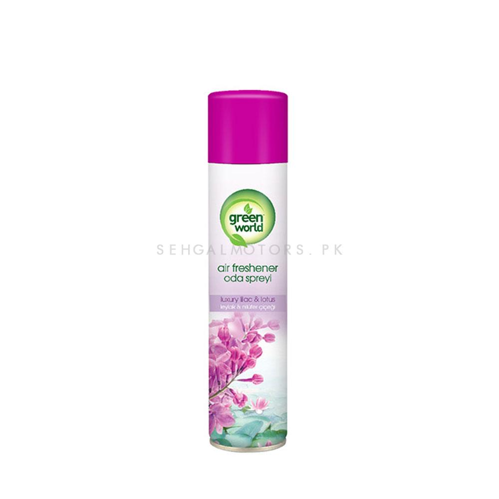 Green World Air Freshener Luxury Lilac And Lotus | Car Perfume | Fragrance | Air Freshener | Best Car Perfume | Natural Scent | Soft Smell Perfume-SehgalMotors.Pk