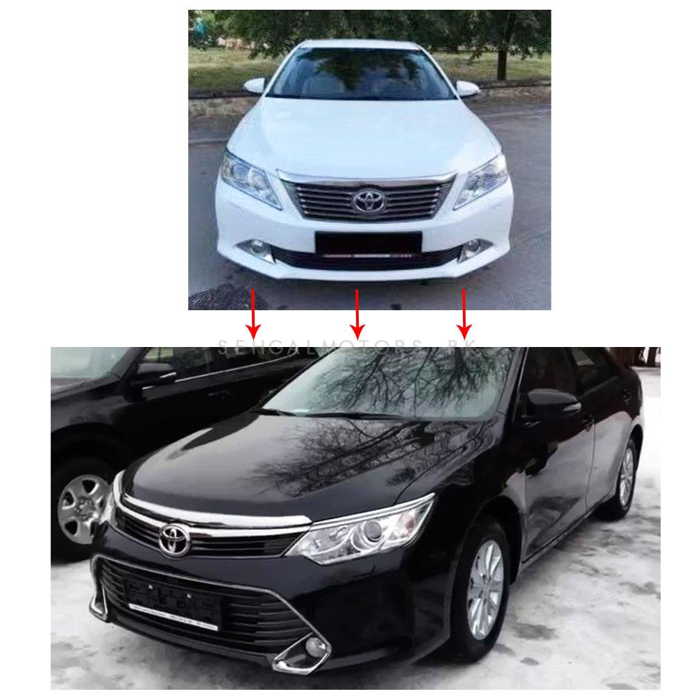 Toyota Camry Face Uplift / Upgrade Old To New Model Conversion Model 2011 - 2015 (6Pcs +HL + BL )-SehgalMotors.Pk