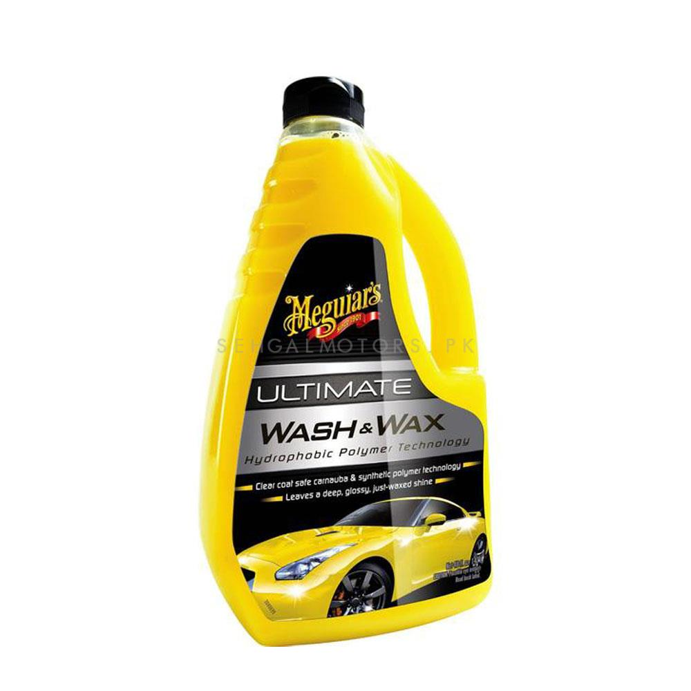 Meguiars Ultimate Wash and Wax 1420ml G17748 | Car Shampoo | Car Cleaning Agent | Car Care Product | Glossy Touch Shampoo | Mirror Like Shine-SehgalMotors.Pk