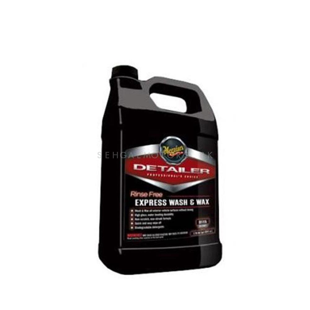 Meguiars Rinse Free Express Wash And Wax - 1 Gallon-SehgalMotors.Pk
