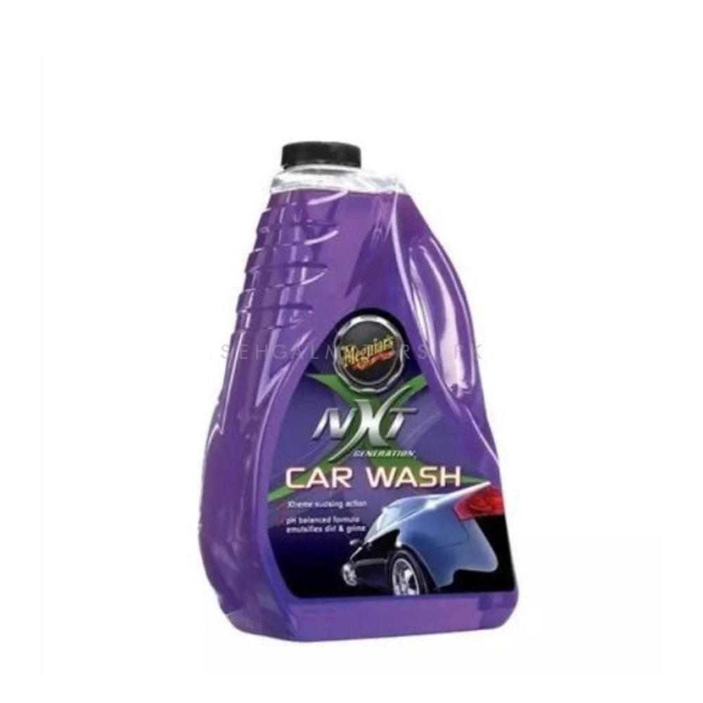 Meguiars NXT Generation Car Wash - 1.89L G12664  | Car Shampoo | Car Cleaning Agent | Car Care Product | Glossy Touch Shampoo | Mirror Like Shine-SehgalMotors.Pk